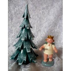 Engel + Weihnachtsbaum Original Erzgebirge