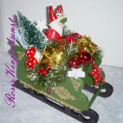 Geldgeschenk * Weihnachten * Dekoriertes Glas * Weihnachtsdeko  * online kaufen