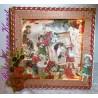 Weihnachtsdekoration * Beleuchtete SHADOWBOX * Vintage Christmas *   Weihnachten * Deko * Geschenk