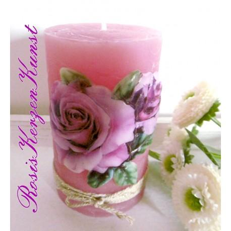 Wunderschöne Kerze zum MUTTERTAG * Geschenk *
