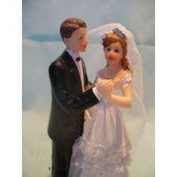 Hochzeitsfigur / Tortenaufsatz