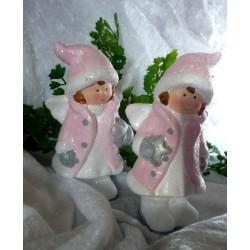 Design-Servietten zur Taufe mit Babywäsche